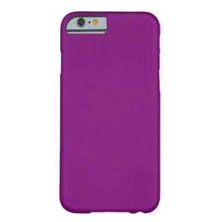 Modèle violet de couleur de tendance du pourpre coque barely there iPhone 6