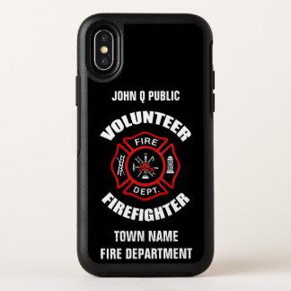 Modèle volontaire de nom de sapeur-pompier