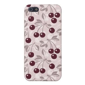 Modelez avec les cerises 2 étuis iPhone 5