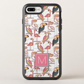 Modelez avec les oiseaux tropicaux que | ajoutent coque otterbox symmetry pour iPhone 7 plus