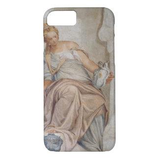 Modération, du mur de la sacristie (fresque) coque iPhone 7