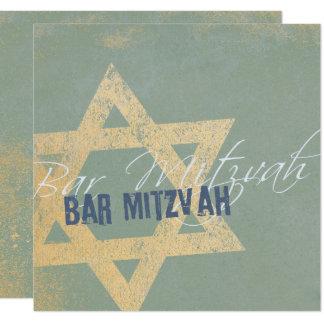Modern Distressed - Barre Mitzvah Invitation