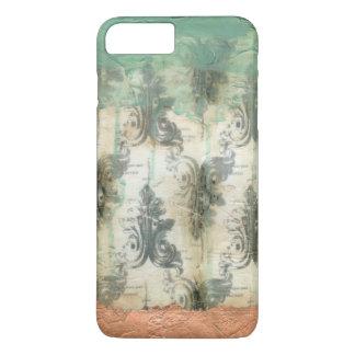 Modern Fleur De Lis Design Coque iPhone 7 Plus