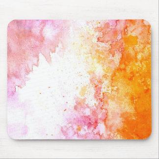 Moderne à la mode abstrait coloré frais tapis de souris