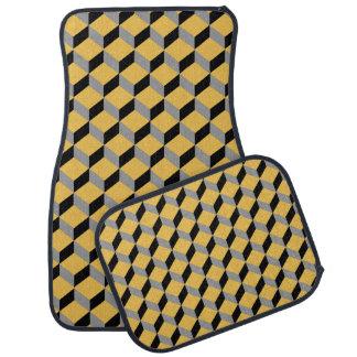 Moderne génial audacieux d'illusion optique modelé tapis de sol