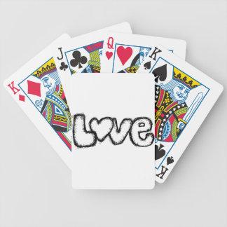 moderne simple blanc de noir de griffonnage jeu de cartes