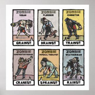 Modes de vie de zombi - affiche