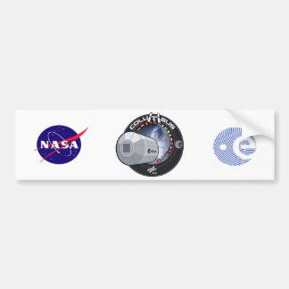 Module de Columbus ISS Autocollant Pour Voiture