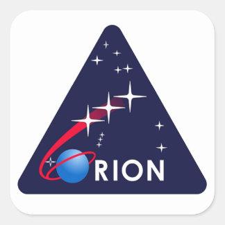 Module d'équipage d'Orion Autocollant Carré