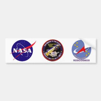 Modules de Zarya-Unité de l'ISS Autocollant De Voiture