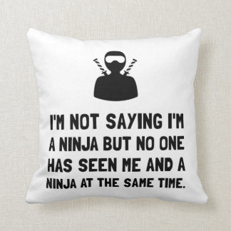 Moi et Ninja Oreiller