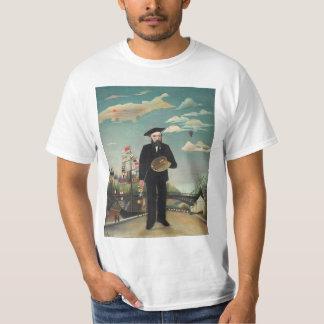 Moi-même paysage 1890, Henri Rousseau de portrait T-shirt