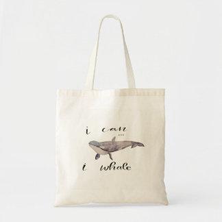 Moi pouvons et la baleine d'I Sac En Toile