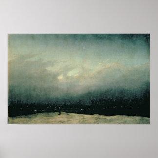 Moine par la mer, 1809 posters