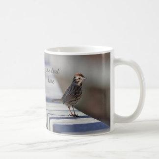 Moineau de chanson mug