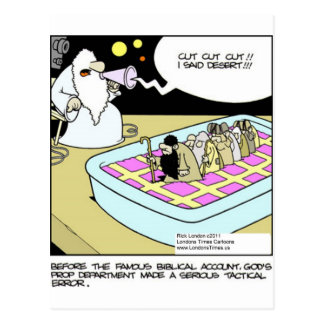Moïse dans les cartes drôles etc. de tasses de tee cartes postales