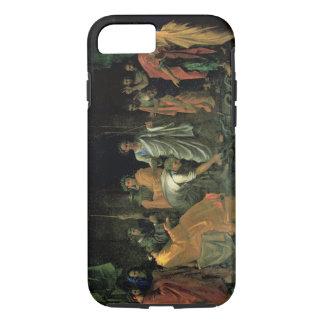 Moïse et le serpent d'airain (huile sur la toile) coque iPhone 7