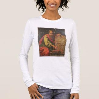 Moïse et les comprimés de la loi t-shirt à manches longues