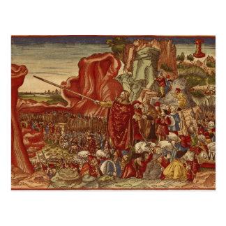 Moïse séparant la Mer Rouge Carte Postale