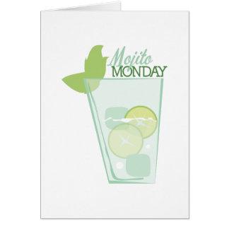 Mojito lundi carte de vœux