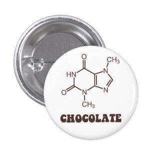 Molécule scientifique de théobromine d'élément de  badges