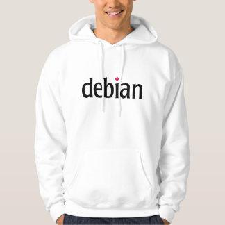 Moletom Debian Veste À Capuche