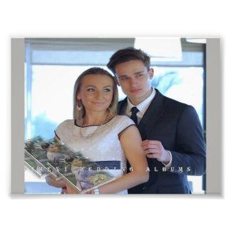 momaries de mariage impression photo