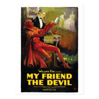 """""""Mon ami carte postale du diable"""""""