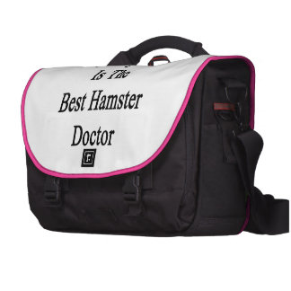 Mon ami est le meilleur docteur de hamster sacoche pour ordinateurs portables