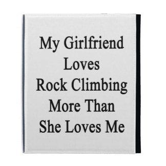 Mon amie aime la roche montant plus qu elle Lo Étuis iPad Folio