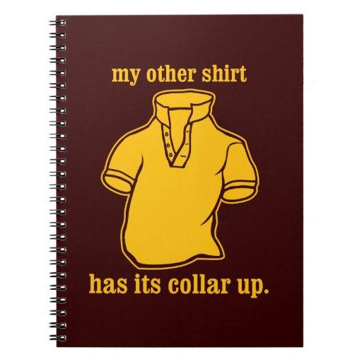 mon autre chemise a son collier sauté de collier carnets à spirale