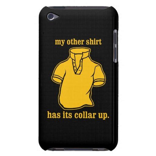mon autre chemise a son collier sauté de collier étui iPod touch