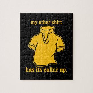 mon autre chemise a son collier sauté de collier puzzles avec photo