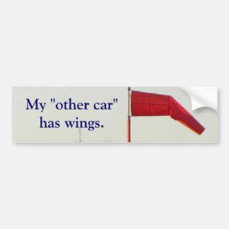 """Mon """"autre voiture"""" a l'adhésif pour pare-chocs d' autocollant pour voiture"""