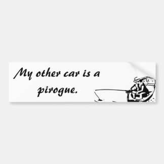 Mon autre voiture est un adhésif pour pare-chocs autocollant de voiture