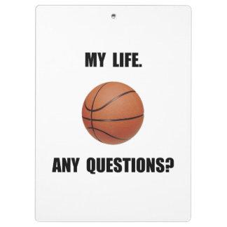 Mon basket-ball de la vie