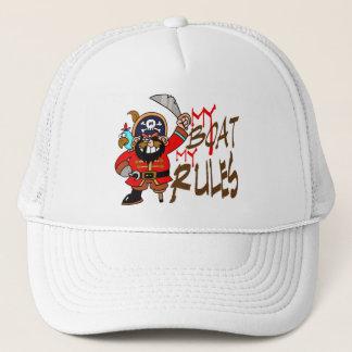 Mon bateau mon casquette de capitaines de règles