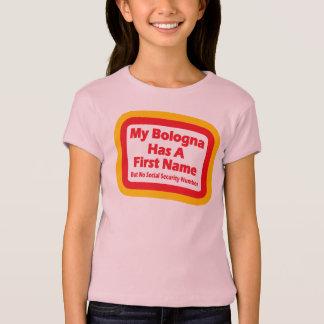 Mon Bologna a un prénom T-shirt