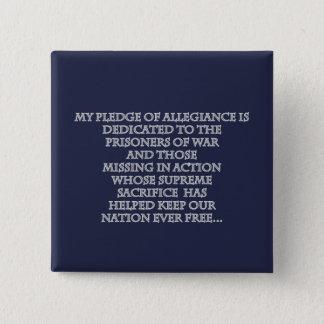 Mon bouton de jour de vétérans d'engagement badge