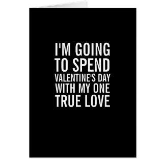 Mon carte drôle de Saint-Valentin d'amour un