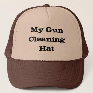 Mon casquette de nettoyage d'arme à feu