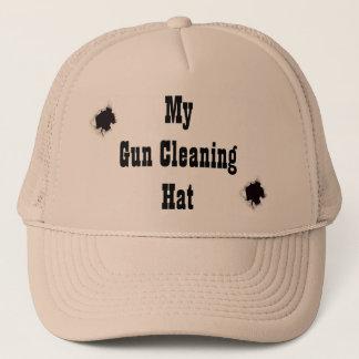 Mon casquette de nettoyage d'arme à feu !