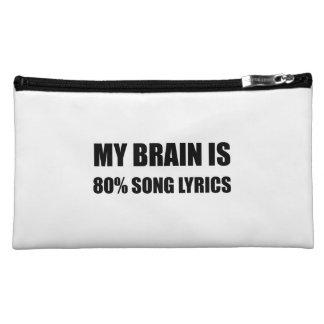 Mon cerveau est des textes de chanson de 80 pour nécessaire à maquillage