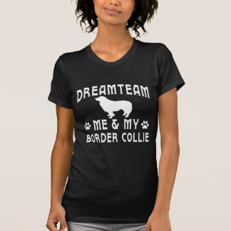 Mon chien de border collie t-shirts