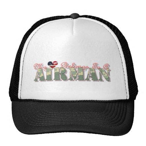 Mon coeur appartient à un aviateur (remis à la côt casquettes