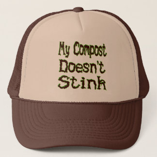 Mon compost n'empeste pas le jardinier drôle casquette
