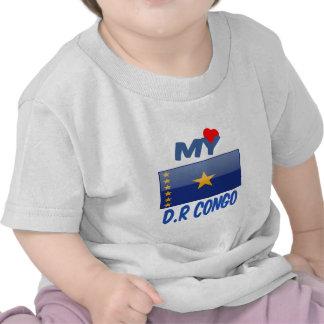 Mon Dominicain République du Congo d amour T-shirt