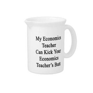 Mon économie que le professeur peut donner un coup pichets