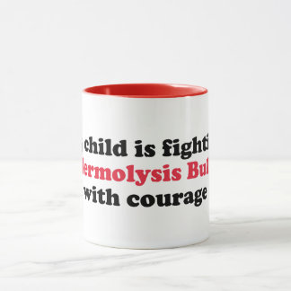 Mon enfant combat l'eb avec la TASSE de courage