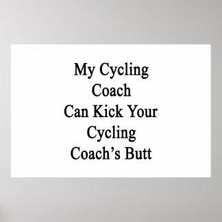 Mon entraîneur de recyclage peut donner un coup de poster
